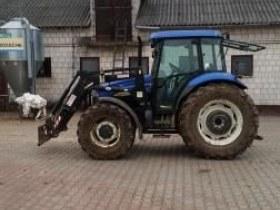 New Holland TD80D Plus 2008 rok lewy bok