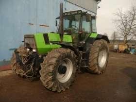 Używany ciągnik rolniczy Deutz Fahr Agrostar 6.61 z przednim TUZ + WOM oraz wyjściami hydraulicznymi  na przód