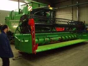 Zdjęcie zielonego używanego kombajnu zbożowego Deutz Fahr Topliner 8 XL 2000 r korbanek.pl
