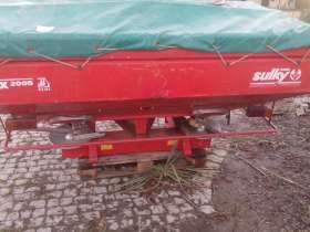Używany rozsiewacz nawozów Sulky Burel 2005 rok