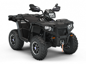 Sportsman 570 EPS Black Edition Polaris kolor czrny osłony rąk