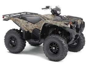 Quad YAMAHA GRIZZLY 700 ATV LIMITED w barwach wojskowych