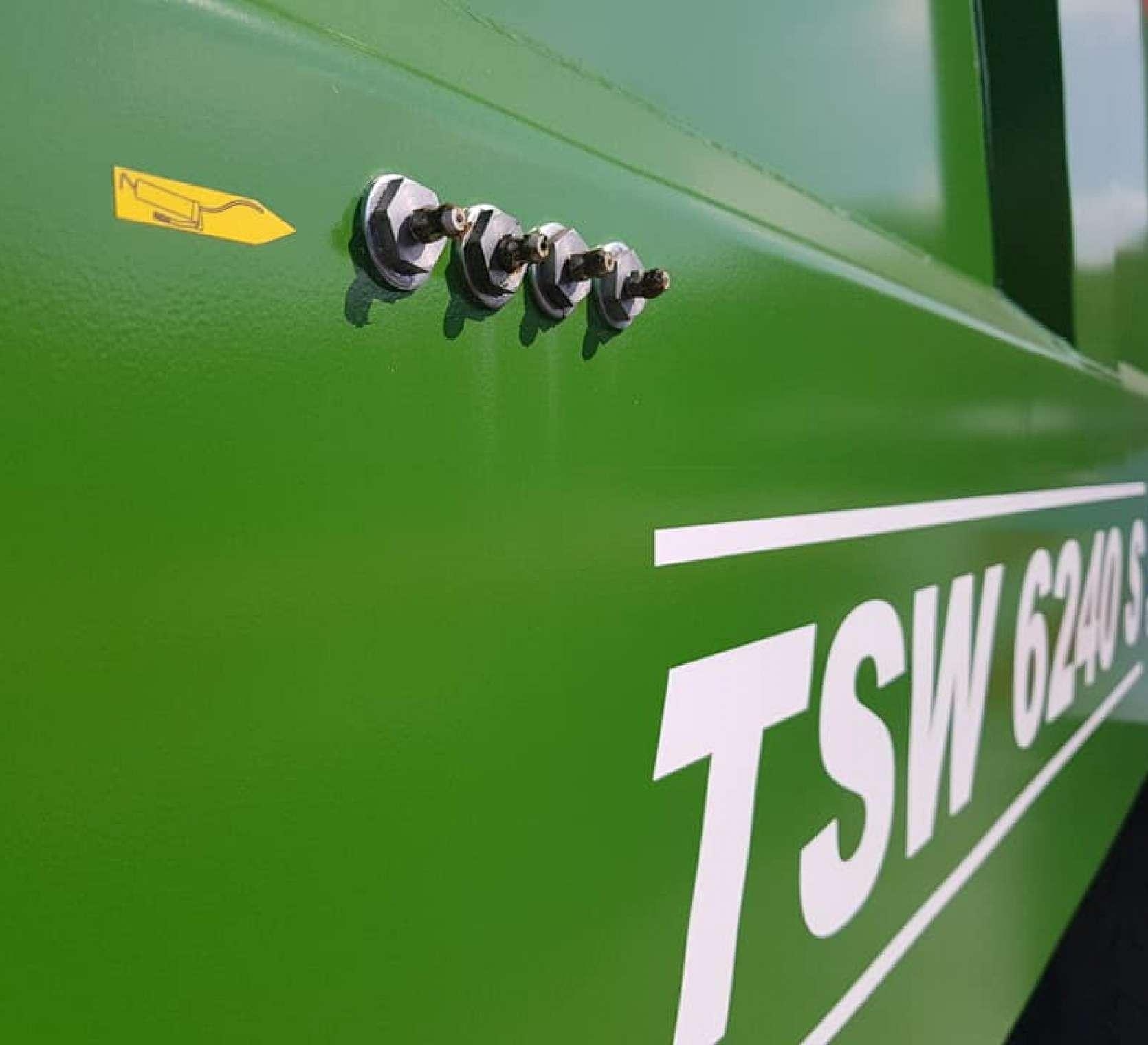 układ sparowania rozrzutnika obornika TSW 6240 S