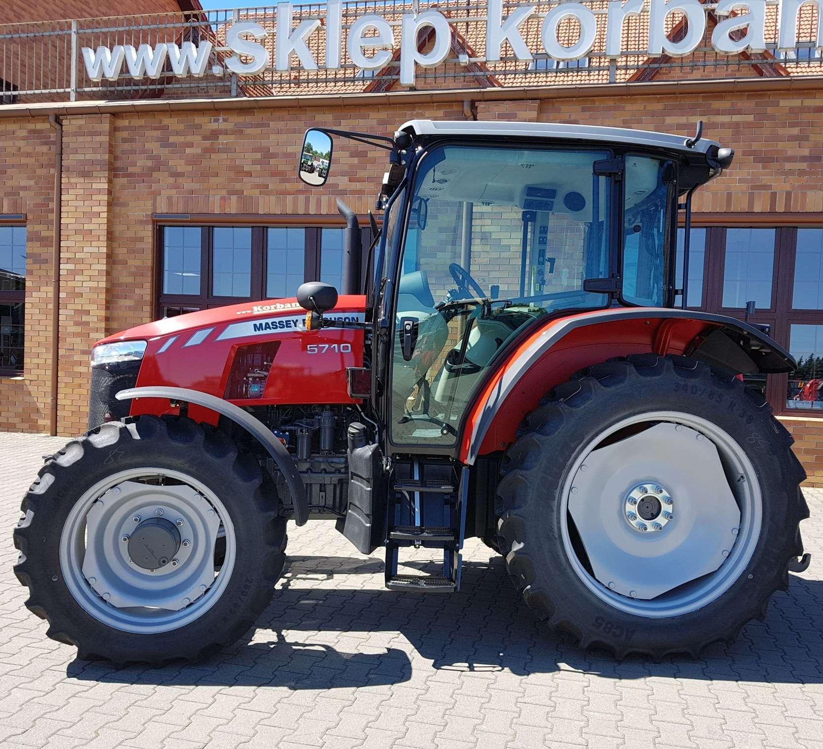 oferta strony korbanek.pl Massey Ferguson 5710 silnik 4,4 litry nowy traktor