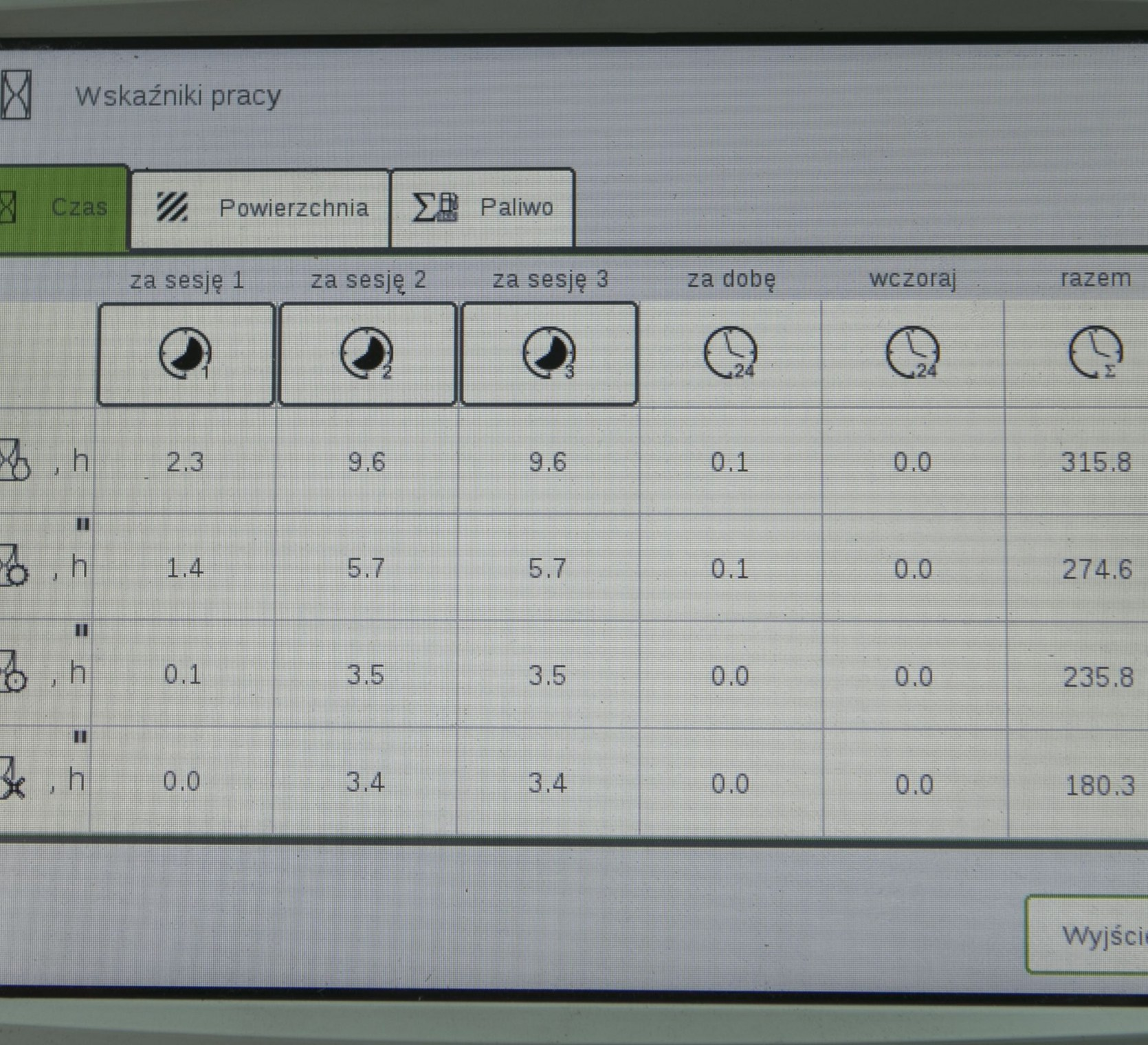 kombajn zbożowy Rostselmash RSM 161 komputer www.korbanek.pl
