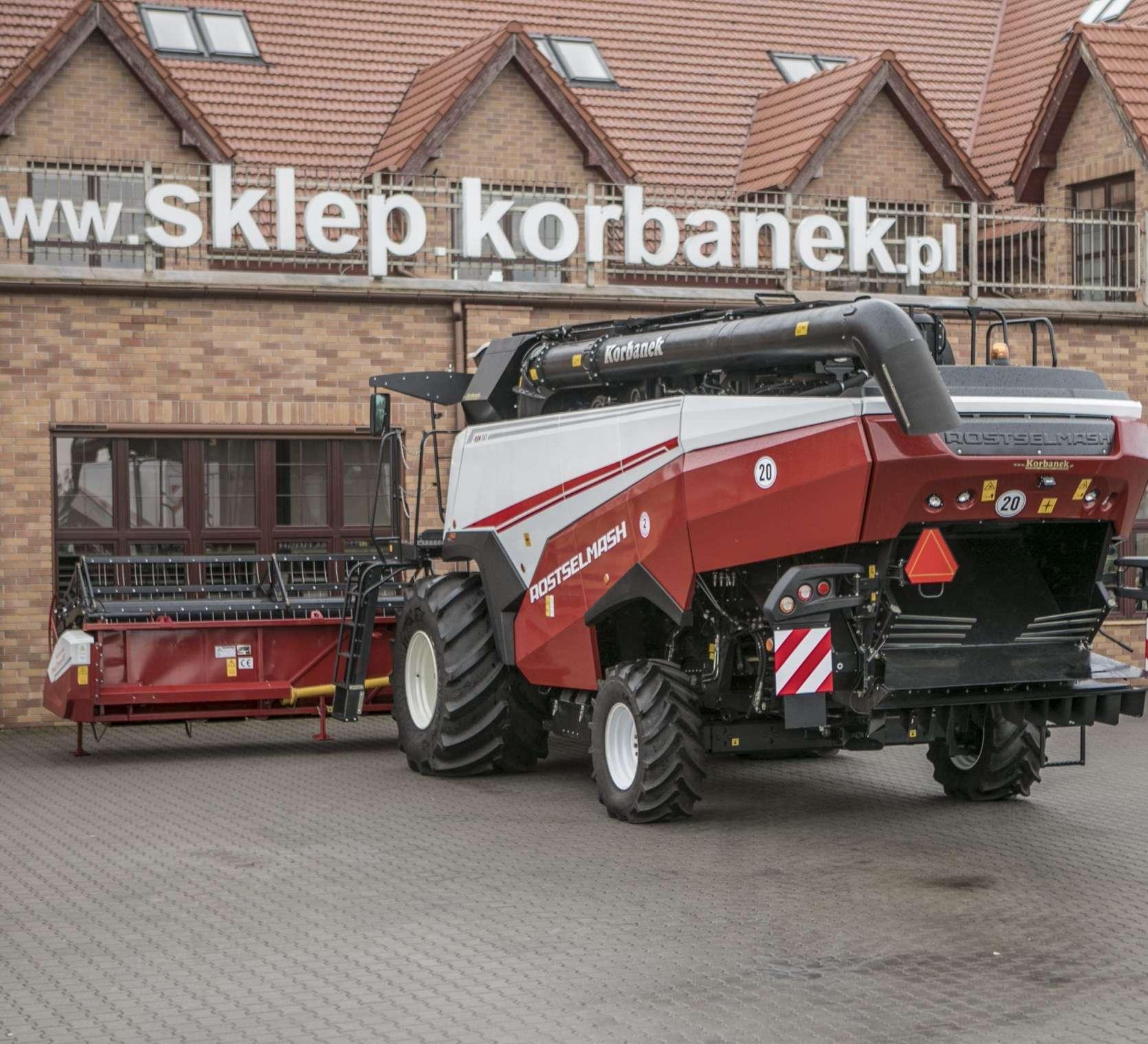 Kombajn zbożowy Rostselmash RSM 161 ogumienie 1050 oferta korbanek.pl