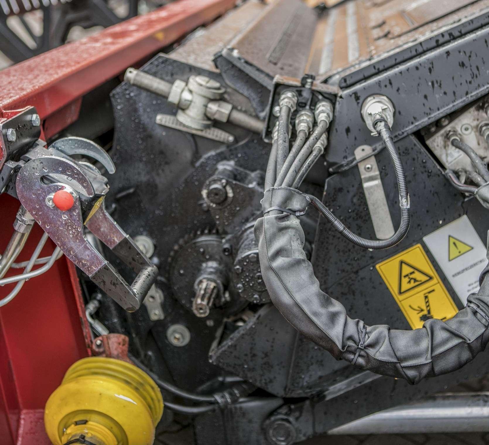Kombajn zbożowy Rostselmash RSM 161 szybkozłącze