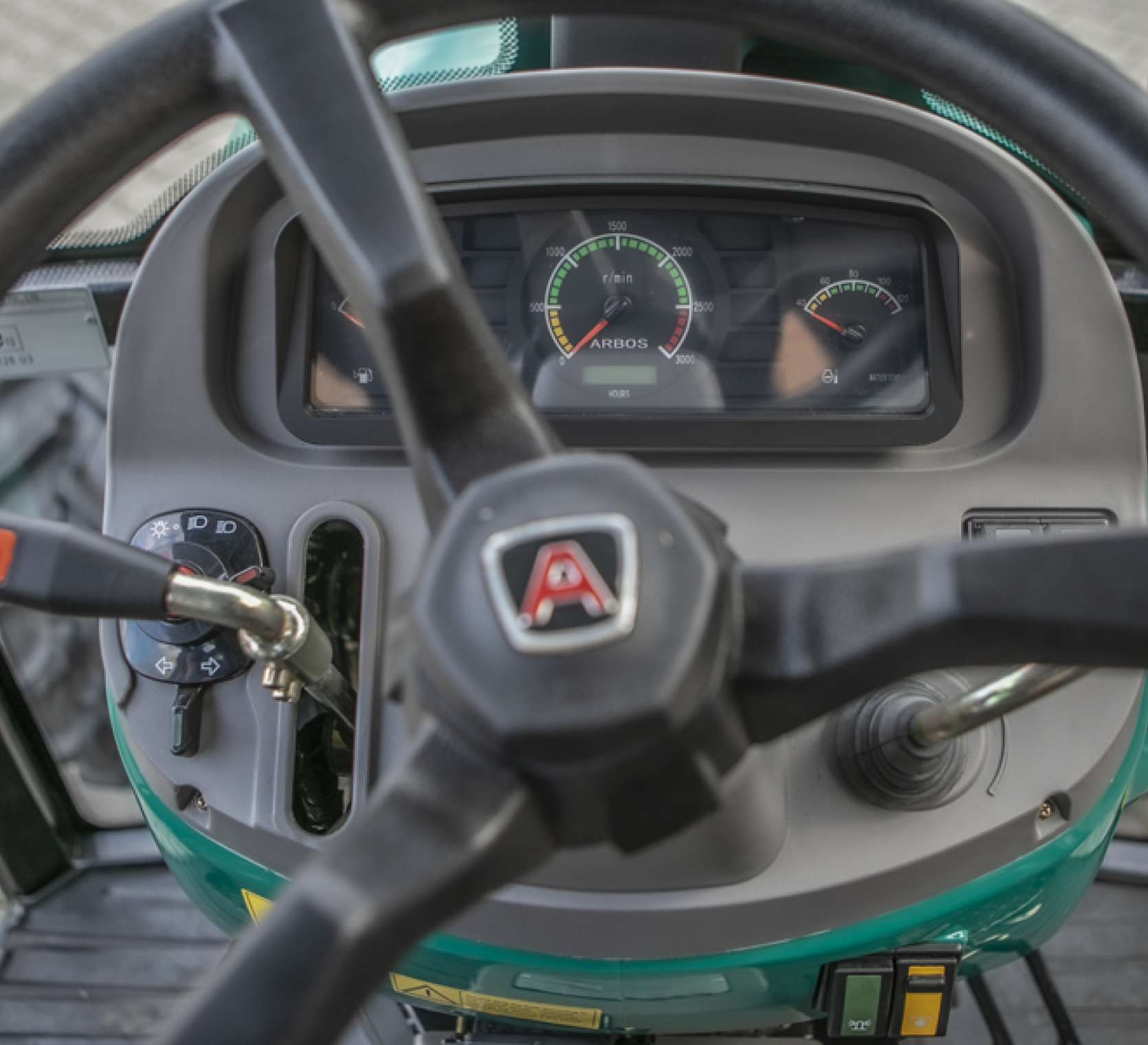kierownica w arbos 2025 traktor