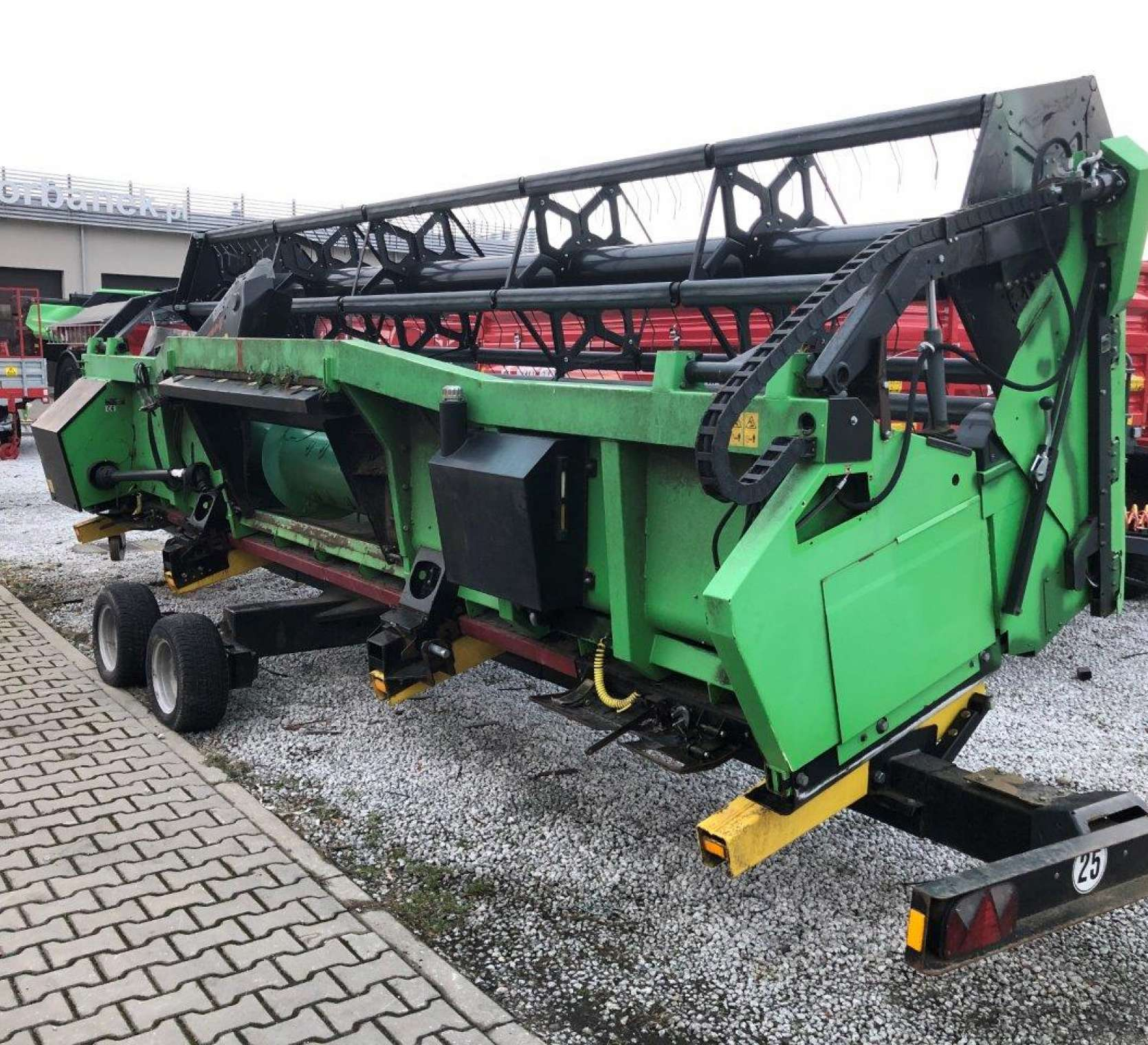 Heder Biso VX 650 na wózku