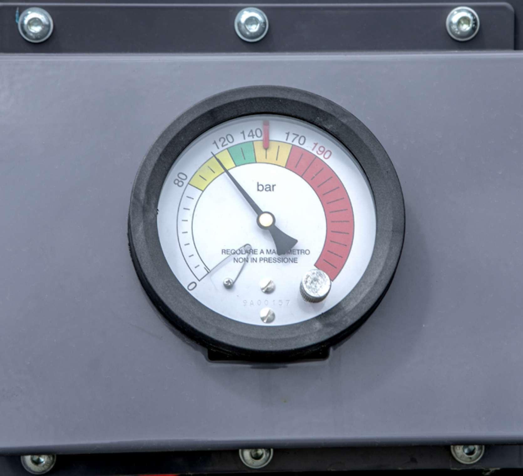 Maschio Entry 120 regulacja ciśnienia zgniotu