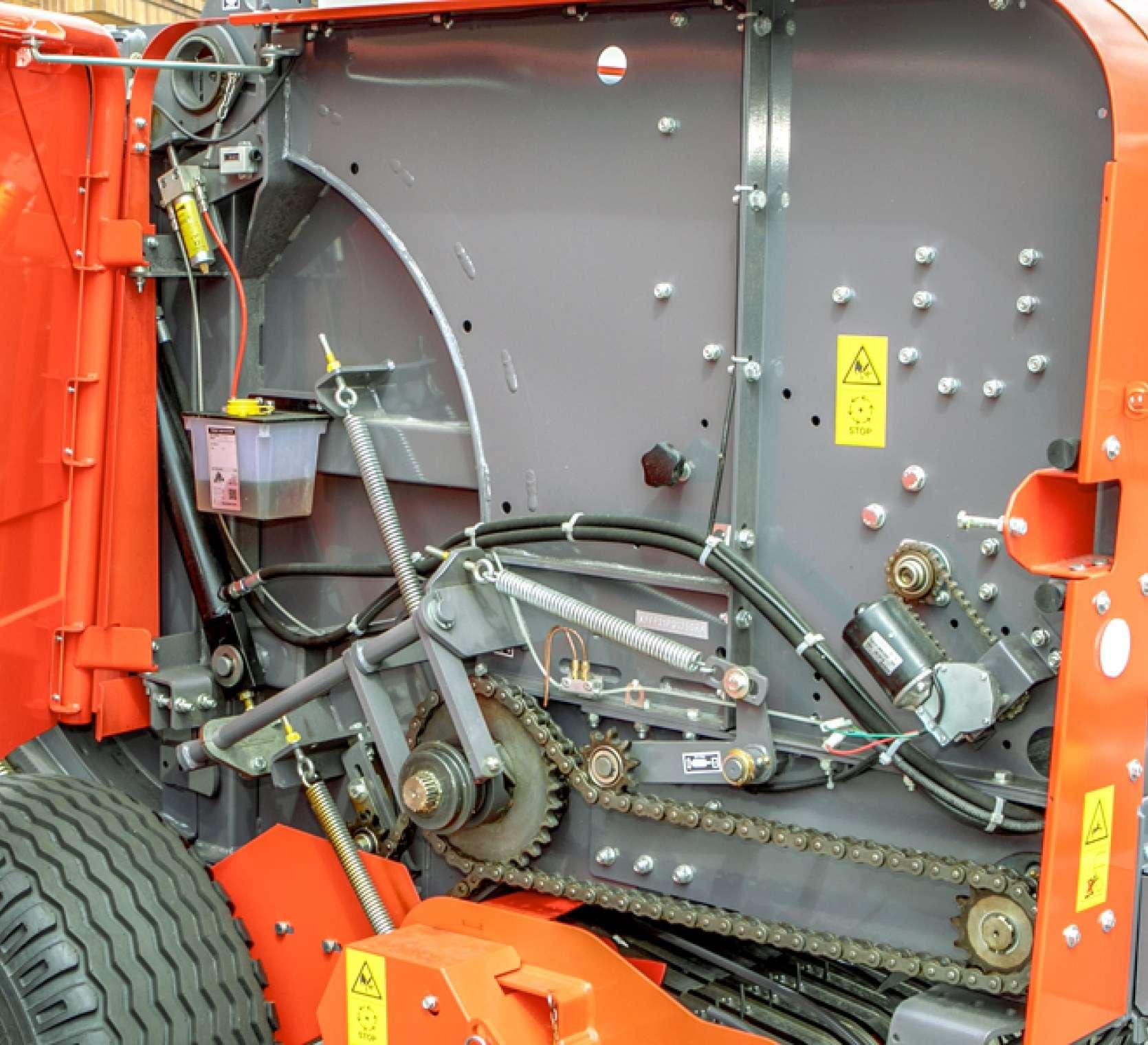 Maschio Entry 120 prawy bok mechanizmy