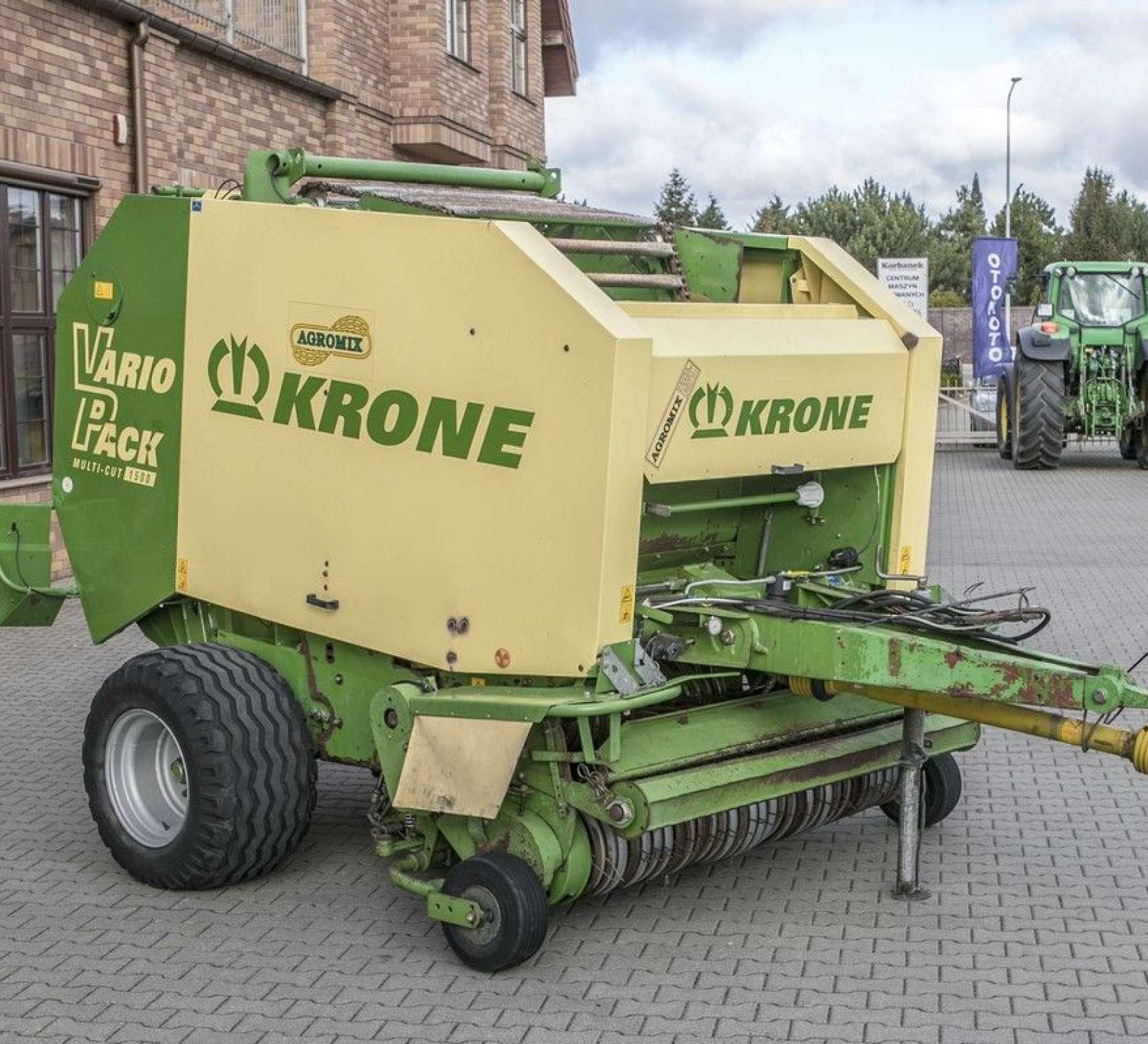 terminal sterujący Krone prasa zwijająca Krone Vario Pack 1500 Multi Cut