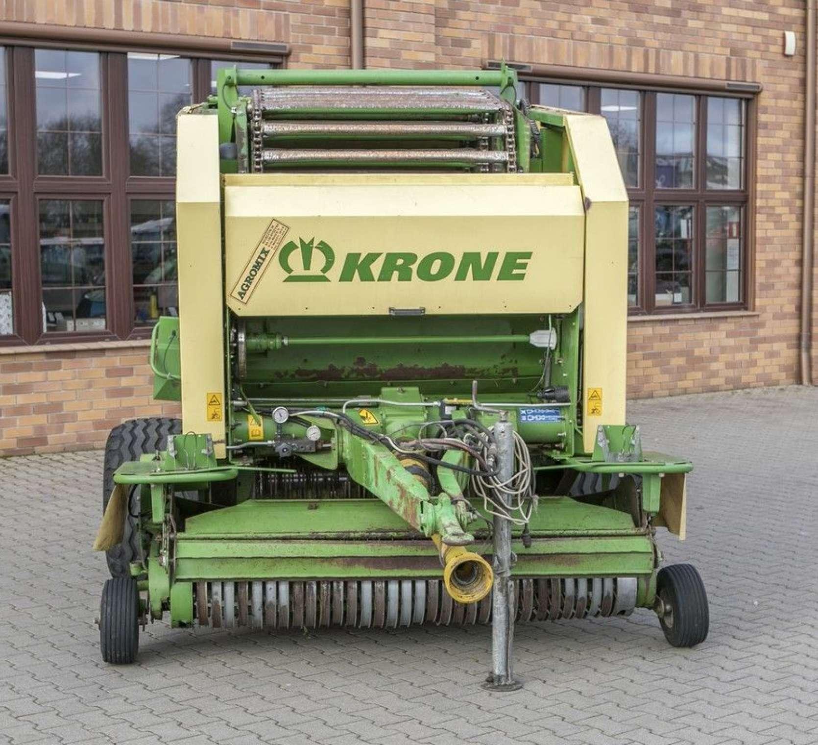 łańcuchowo listwowa prasa zwijająca Krone Vario Pack 1500 Multi Cut