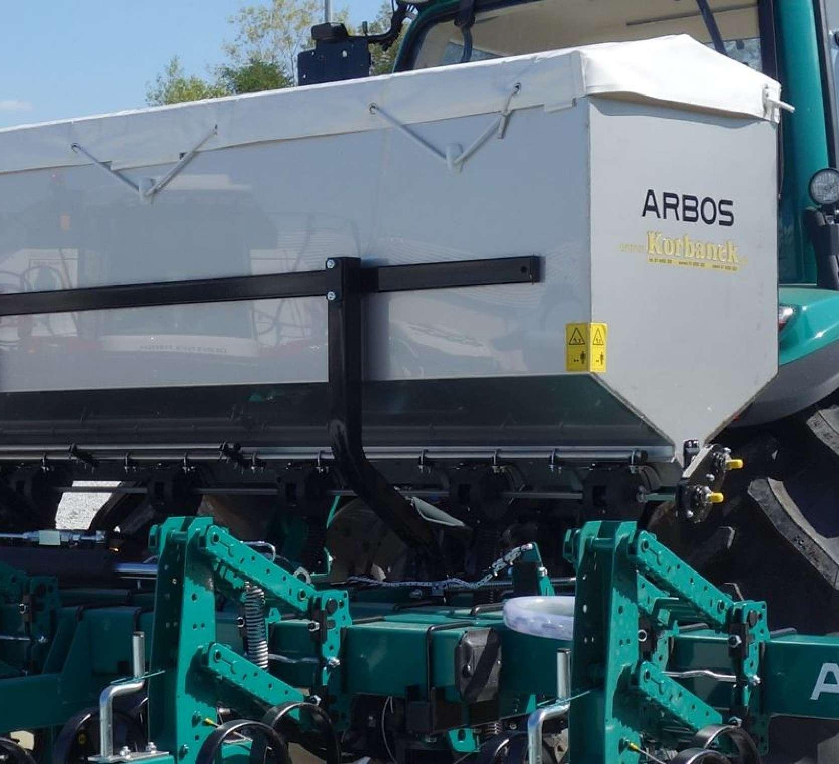 Podsiewacz pielnika ARBOS ze stali nierdzewnej INOX