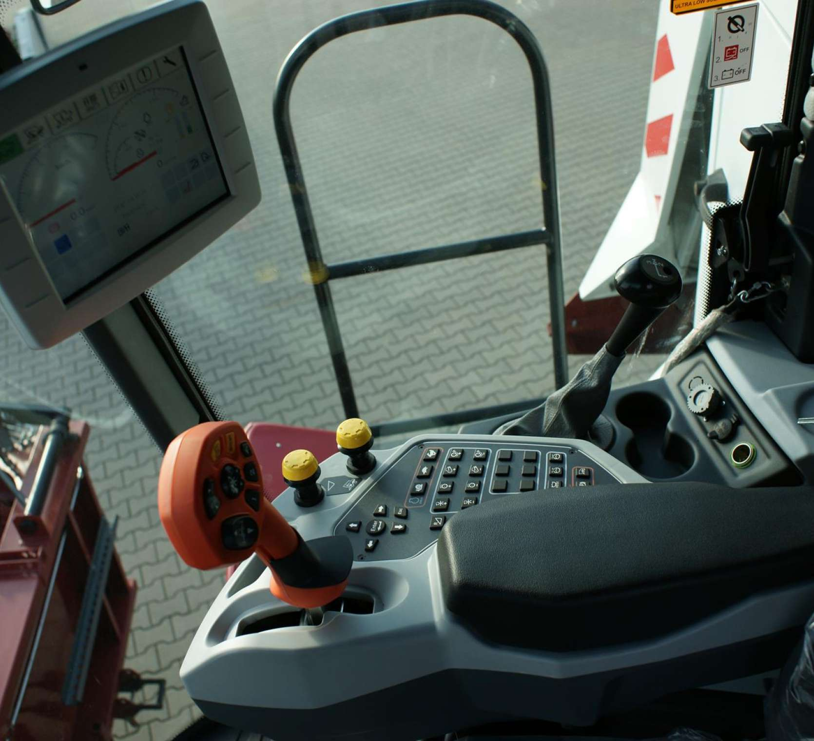 Panel operatora Vector 425