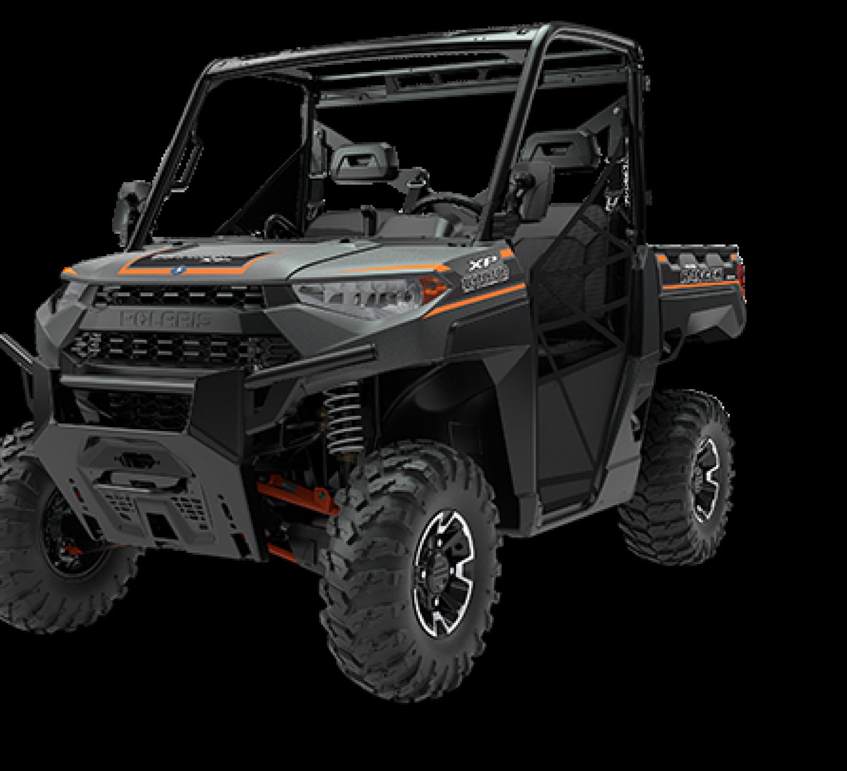 Ciągnik rolniczy Polaris seria Ranger 1000 XP kolor grafitowy Ładowność: 680 kg
