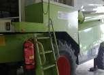 Claas Mega 360 schodki do kabiny lewy bok