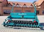 Siewnik zbożowy mechaniczny zbiornik na ziarno 550 litrów
