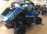 Niebieski Quad Polaris General 1000 XP Premium EPS z odchyloną wywrotką bagażnik tył: 272 kg