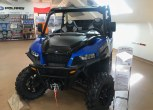 Niebieski Quad Polaris seria  General 1000 XP Premium EPS z salonu quadów Polaris spółki Korbanek