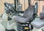 fotel pneumatyczny i siodełko dla pasażera w przestronnej kabinie Massey Ferguson 5611 okazja na korbanek.pl