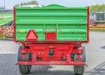 trójstronny wywrot dwuosiowa wymiar paletowy Przyczepa rolnicza P10 LONG