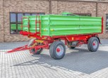 Przyczepa rolnicza P10 LONG wywrot trójstronny dwuosiowa wymiar paletowy