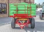 Dwuosiowa przyczepa rolnicza P10 LONG trójstronny wywrot wymiar paletowy