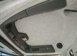 Rostselmash RSM 161 szara podsufitka w kabinie kombajnu