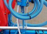 Odkurzacz zasysanie resztek nasion ze zbiornika