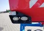 Światła LEDOWE podsiewacza czołowego ułatwiające poruszanie się po drogach publicznych