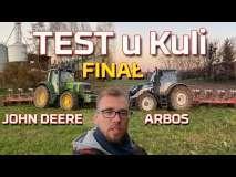 Embedded thumbnail for TEST u KULI Finał Arbos 5130 AD vs John Deere 6620 SE | Orka 2019 I Zużycie paliwa I Moc |Traktor