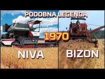 Embedded thumbnail for BIZON i NIVA | Takie same legendy w swoich krajach | KOMBAJN Rostselmash NOVA