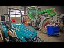 Embedded thumbnail for ZABETONOWANY ciągnik Fendt 930 vario prosto z budowy w rękach kierownika