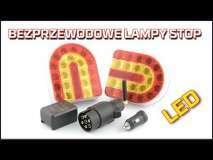 Embedded thumbnail for Lampy bezprzewodowe STOP LED na magnes | Obrysówki na przyczepę do oznaczenia szerokości