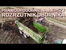 Embedded thumbnail for Rolnik kupił prawdopodobnie NAJLEPSZY rozrzutnik obornika na świecie | Bergmann TSW 6240