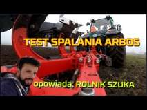 Embedded thumbnail for TEST spalania ARBOS Global 5130 na ciężkiej i średniej ziemi w orce | Rolnik szuka i Pracuje