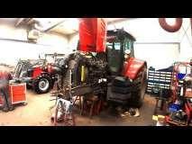 Embedded thumbnail for Awaryjna konstrukcja miękkiej osi Massey Ferguson Serwisant poprawia ciągnik po fabryce