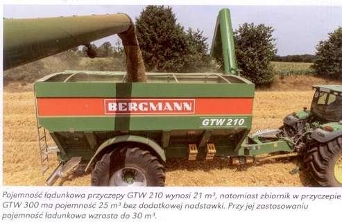 Przyczepa przeładowcza marki Bergmann