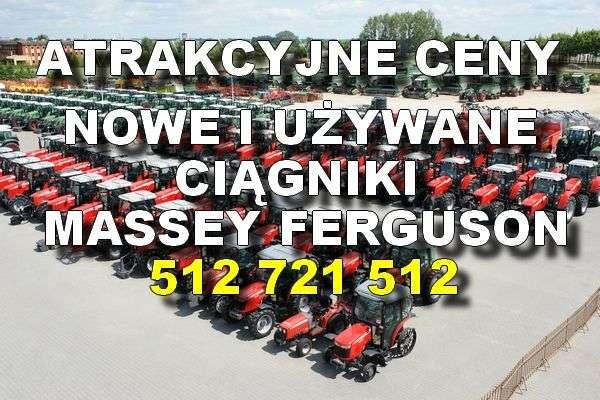 atrakcyjne ceny nowe i używane ciągniki Massey Ferguson z firmy korbanek