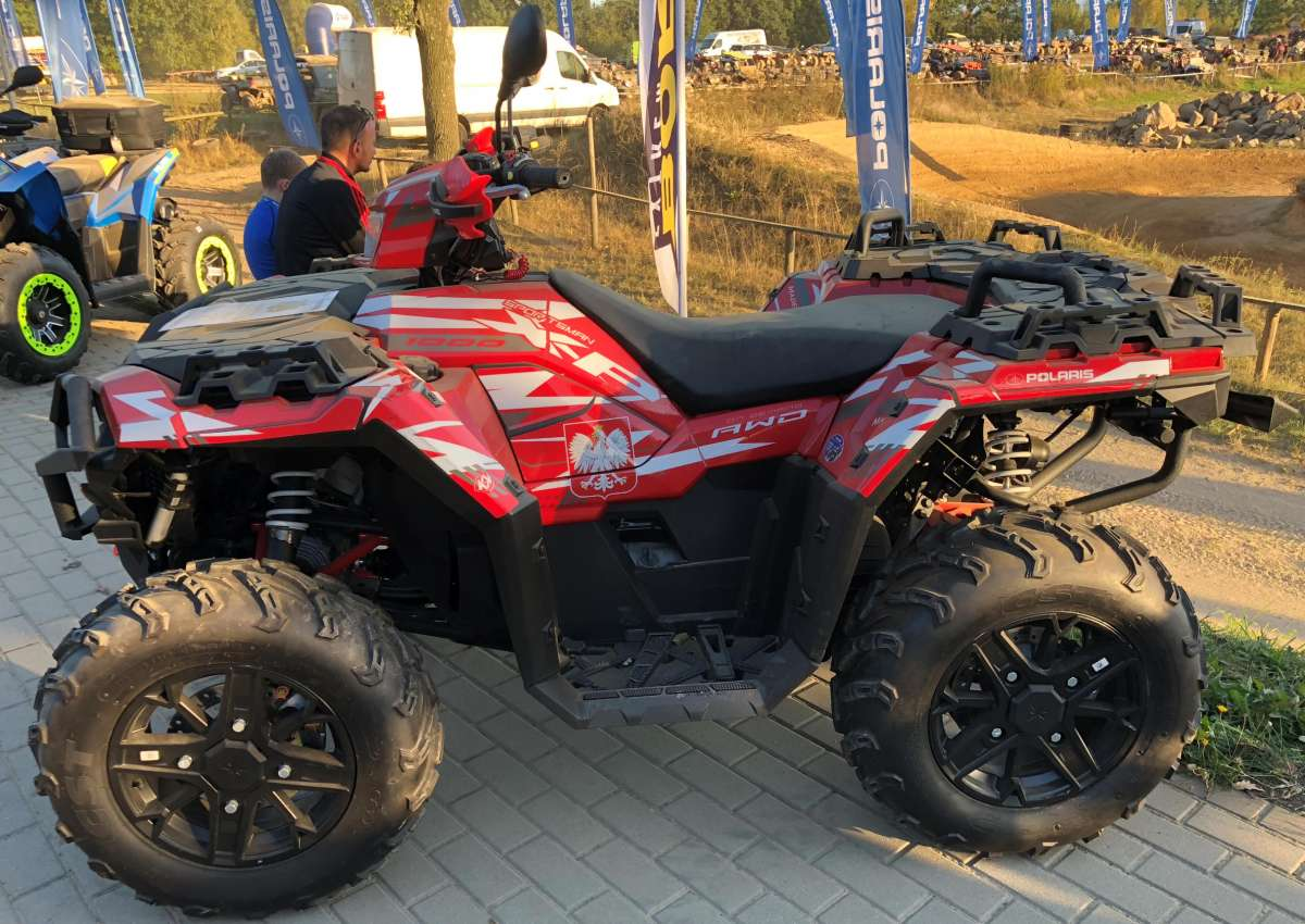 Quad Sportsman XP 100 Husaria