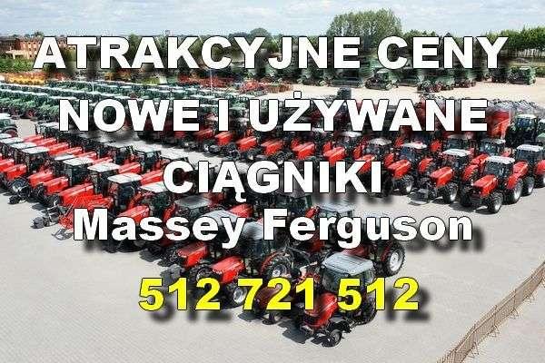 Ciągniki Massey Ferguson w atrakcyjnych cenach zdjęcie na palcu maszyn firmy korbanek