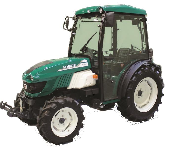 Specjalistyczne maszyny rolnicze Arbos seria 3000 model 3050 korbanek