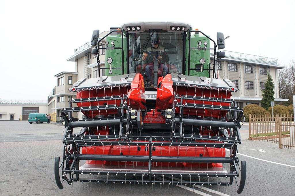 Capello Grain System w pozycji transportowej przód
