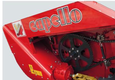 Przystawka Capello Spartan solidna konstrukcja maszyny w ofercie firmy korbanek