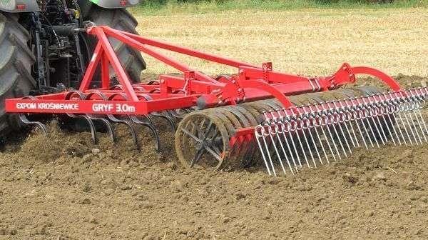 Expom Gryf przeznaczony do intensywnej uprawy w polu