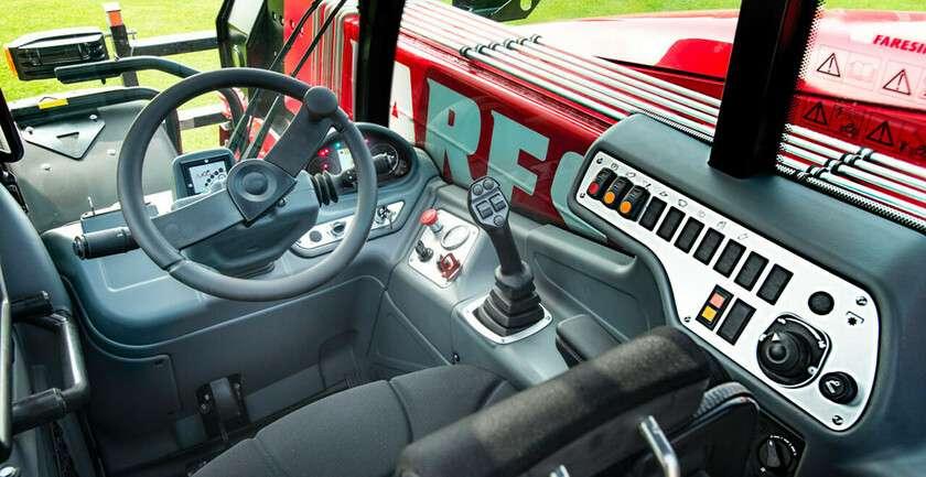 Faresin compact 7.30 C kabina joystick