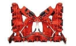 Przystawka Kemper wersja 375 plus o szerokości transportowej 3 m maszyna z oferty korbanek.pl