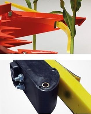 Czujnik w środkowym dzielniku ułatwia kierowanie i czujnik czarny mierzący odległość i określający sygnał kierowniczy
