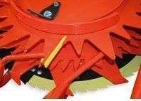 Przykręcane zgarniaki które zapewniają optymalne działanie przystawki Kemper